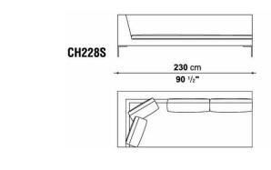 B&B CH228S drawing
