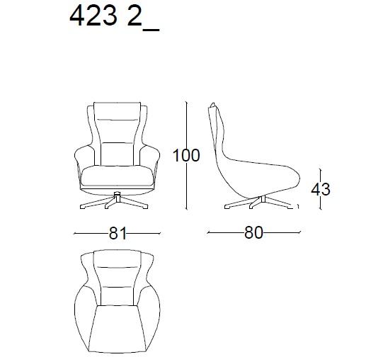 423 CAB drawing