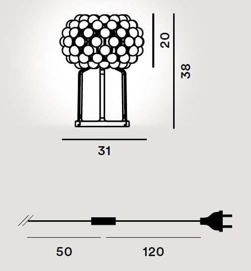 Caboche table drawing