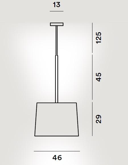 Twiggy pendant drawing