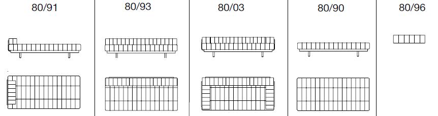 デセデ DS-80 Size variation