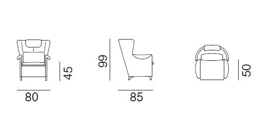 de Sede DS-23 drawing