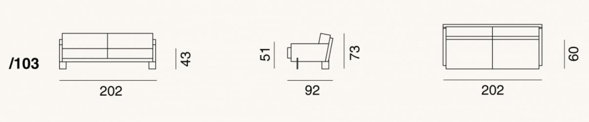 de Sede DS-77-103 drawing