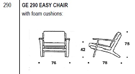 290 Chair drawing