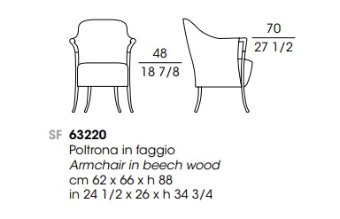 Giorgetti 63220 drawing