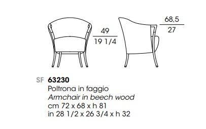 Giorgetti 63230 drawing