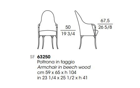 Giorgetti Progetti 63250 drawing