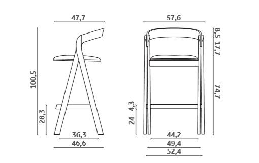 diverge_stool_drawing