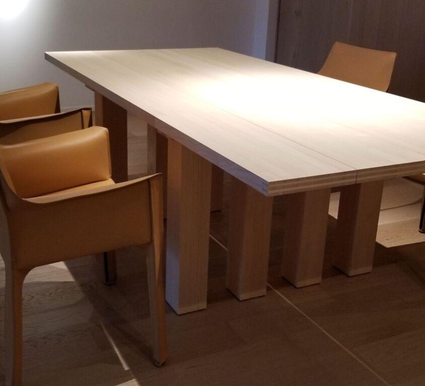 Cassina 413 CAB アームチェア、La Basilicaダイニングテーブル 3