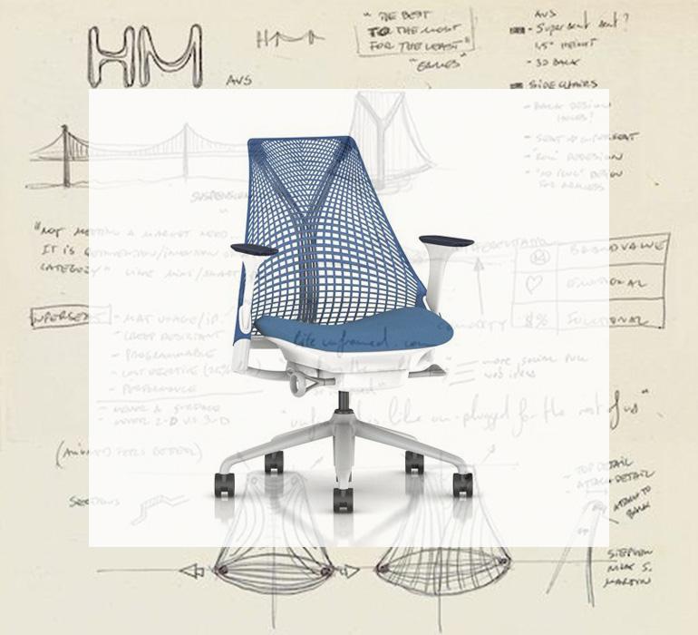 Herman Miller – Sayl Chairs (ハーマンミラー – セイルチェア)