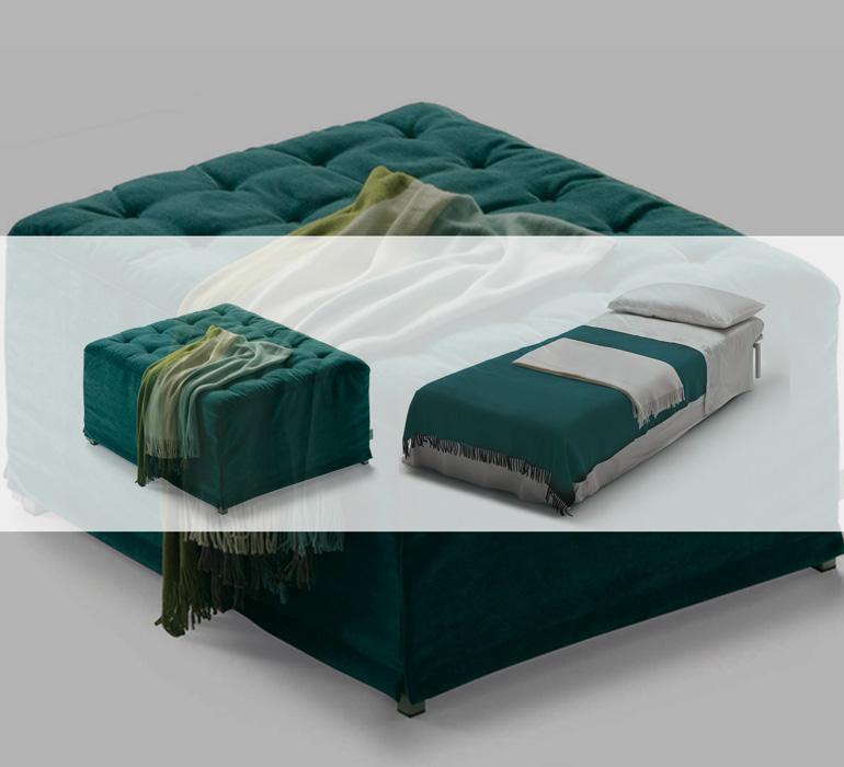 Milano Bedding (by Kover Srl) – Ottoman Beds (ミラノベッド – オットマンベッド)