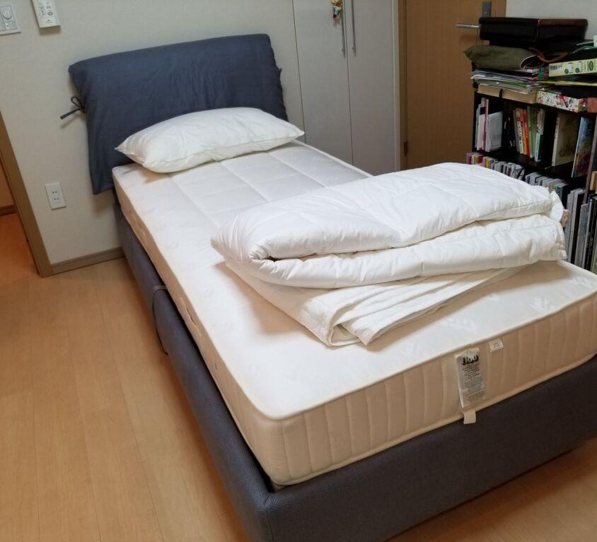Flou NATHALIE ベッド
