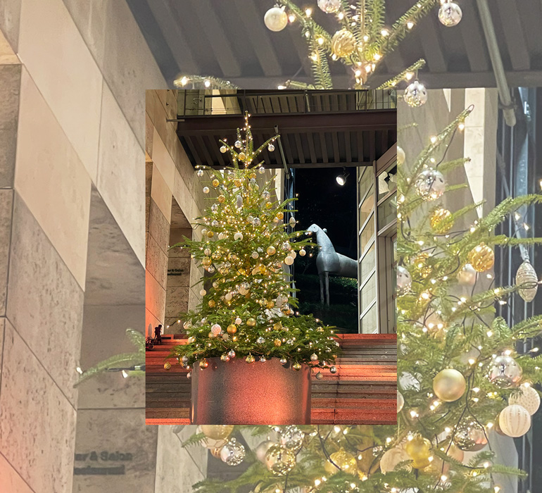 Christmas has arrived at the Tokyo Design Center