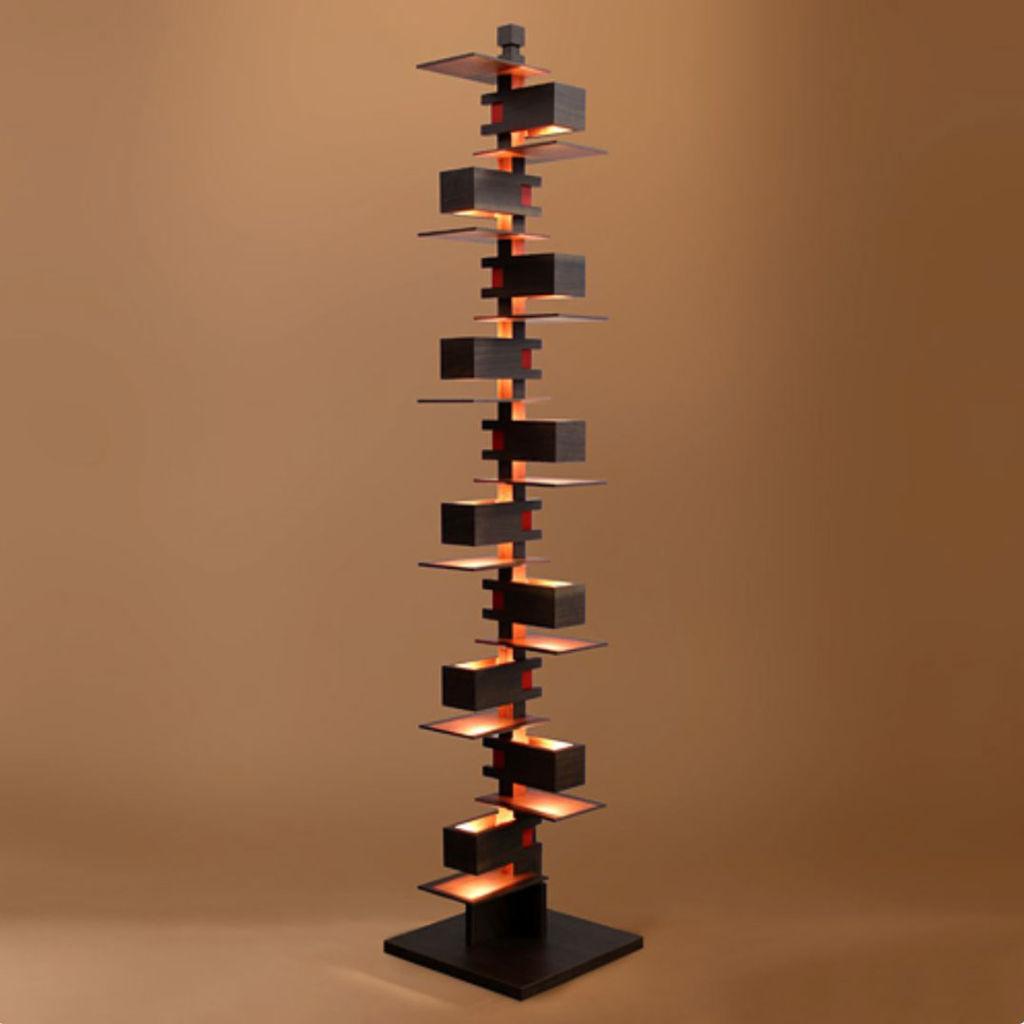"""Frank Lloyd Wright """"TALIESIN 2"""" walnut"""