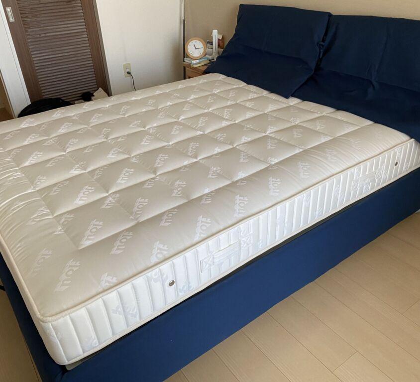 Flou NATHALIE ベッド W160cm
