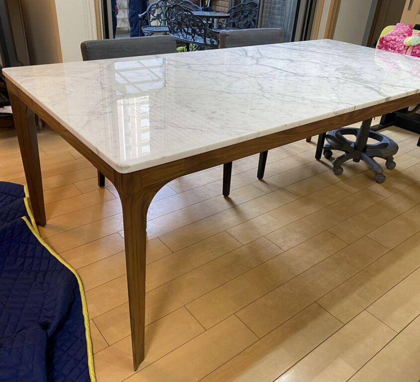 Giorgetti ANTEOテーブル 大理石天板