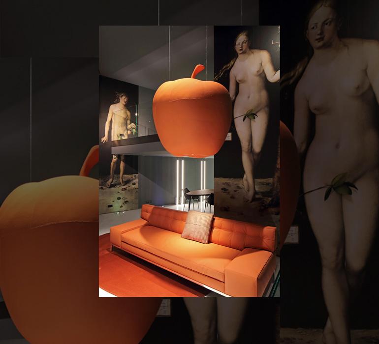 Cassina and Stark – Sofas covered with vegan material (カッシーナ&スタルク – ヴィーガン素材で覆われたソファ)