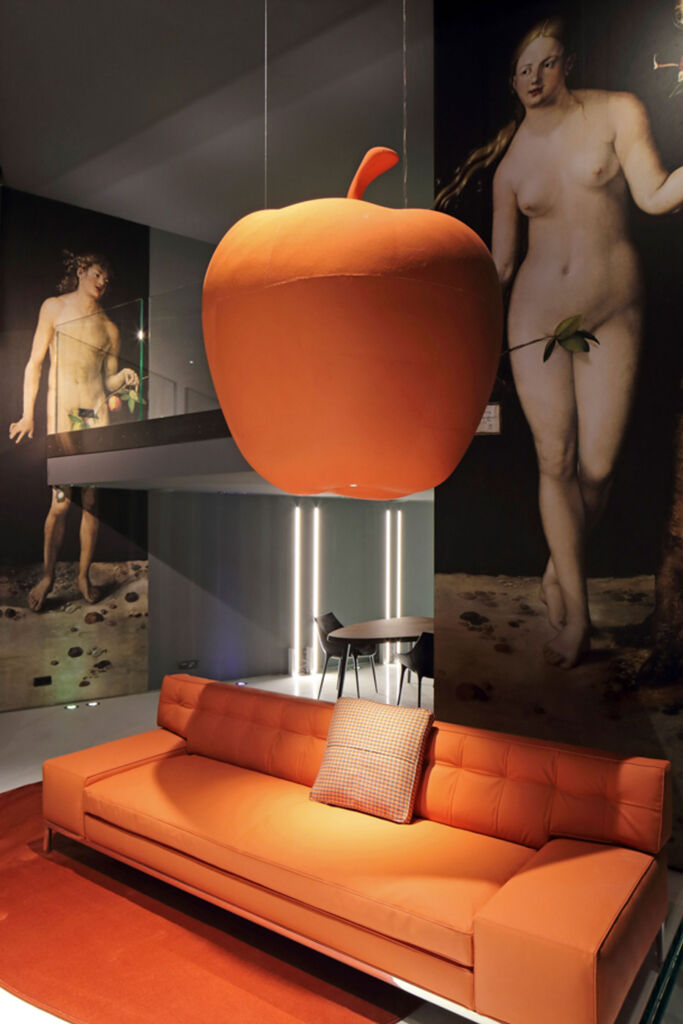 Cassina Croque La Pomme - by Philippe Starck at Cassina Paris Rive Gauche