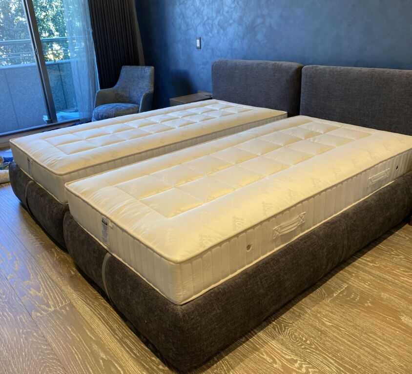 Flou MERKURIO ベッド シングルサイズ2台