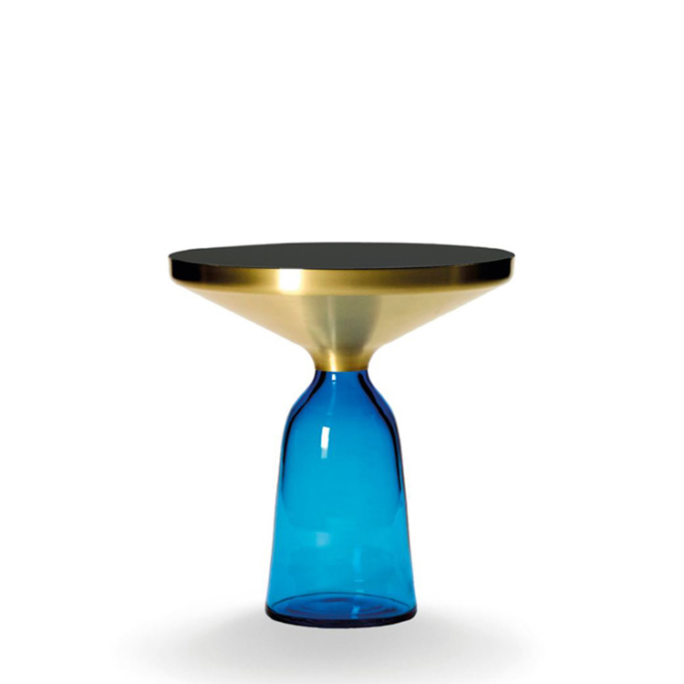 """ClassiCon """"Bell Side Table"""" Solid brass frame"""