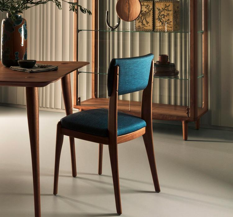 "Revised ""Finchdean chair"" Walnut"